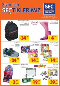 Seç Market 18 - 24 Nisan 2018 Kampanya Broşürü! Sayfa 5 Önizlemesi