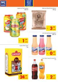 Seç Market 18 - 24 Nisan 2018 Kampanya Broşürü! Sayfa 2