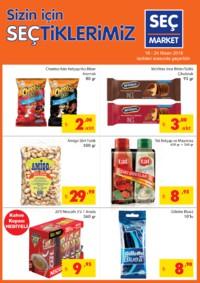Seç Market 18 - 24 Nisan 2018 Kampanya Broşürü! Sayfa 1