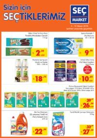 Seç Market 04 - 10 Nisan 2018 Kampanya Broşürü! Sayfa 1