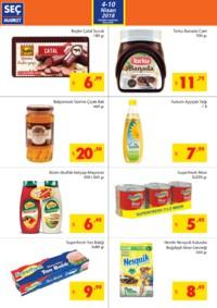 Seç Market 04 - 10 Nisan 2018 Kampanya Broşürü! Sayfa 2