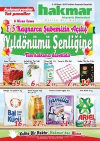 Hakmar 06 - 10 Nisan 2018 Kampanya Broşürü! Sayfa 1