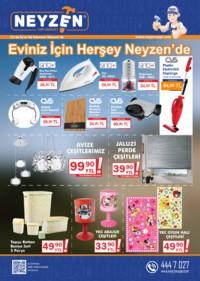 Neyzen Yapı Market 02 Nisan - 30 Mayıs 2018 Kampanya Broşürü! Sayfa 1 Önizlemesi