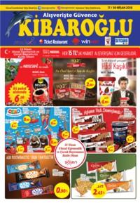 Kibaroğlu 17 - 30 Nisan 2018 Kampanya Broşürü! Sayfa 1