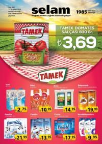 Selam Market 17 - 30 Nisan 2018 Kampanya Broşürü! Sayfa 1
