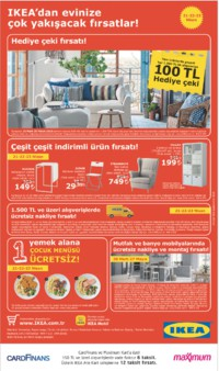 IKEA 21 - 23 Nisan 2018 Kampanya Broşürü! Sayfa 1