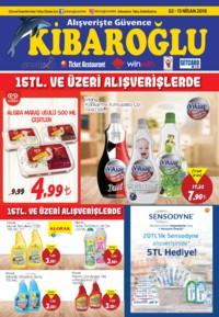 Kibaroğlu 02 - 15 Nisan 2018 Kampanya Broşürü! Sayfa 1