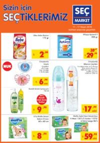 Seç Market 11 - 17 Nisan 2018 Kampanya Broşürü! Sayfa 1