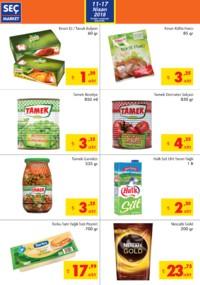Seç Market 11 - 17 Nisan 2018 Kampanya Broşürü! Sayfa 2
