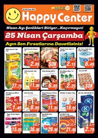 Happy Center 25 - 30 Nisan 2018 Kampanya Broşürü! Sayfa 1