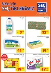 Seç Market 02 - 08 Mayıs 2018 Kampanya Broşürü! Sayfa 1 Önizlemesi