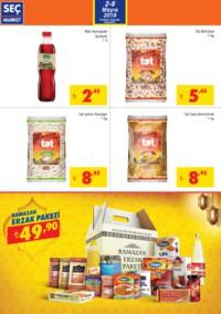 Seç Market 02 - 08 Mayıs 2018 Kampanya Broşürü! Sayfa 2 Önizlemesi