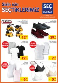 Seç Market 02 - 08 Mayıs 2018 Kampanya Broşürü! Sayfa 5 Önizlemesi