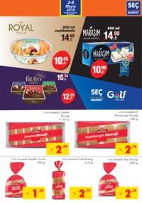 Seç Market 02 - 08 Mayıs 2018 Kampanya Broşürü! Sayfa 3 Önizlemesi