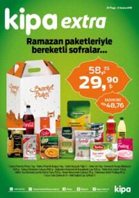 Kipa 24 Mayıs - 06 Haziran 2018 Kampanya Broşürü: Ramazan Paketleriyle Bereketli Sofralar Sayfa 1