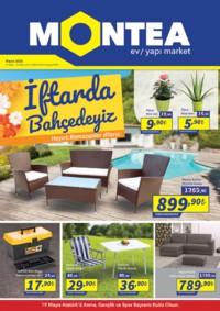 Montea Yapı Market 04 - 31 Mayıs 2018 Kampanya Broşürü! Sayfa 1