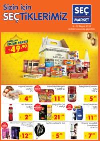 Seç Market 09 - 15 Mayıs 2018 Kampanya Broşürü! Sayfa 1