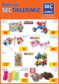 Seç Market 09 - 15 Mayıs 2018 Kampanya Broşürü! Sayfa 5 Önizlemesi
