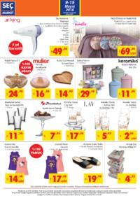 Seç Market 09 - 15 Mayıs 2018 Kampanya Broşürü! Sayfa 6 Önizlemesi