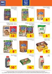 Seç Market 09 - 15 Mayıs 2018 Kampanya Broşürü! Sayfa 4 Önizlemesi