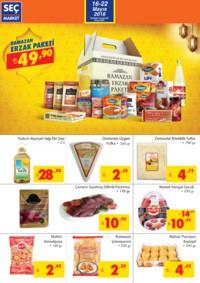 Seç Market 16 - 22 Mayıs 2018 Kampanya Broşürü! Sayfa 2