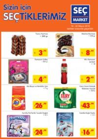 Seç Market 16 - 22 Mayıs 2018 Kampanya Broşürü! Sayfa 1