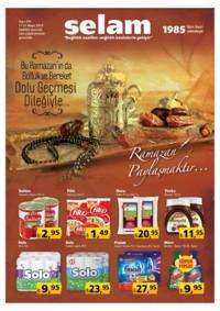Selam Market 11 - 31 Mayıs 2018 Kampanya Broşürü! Sayfa 1
