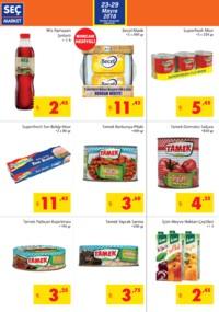 Seç Market 23 - 29 Mayıs 2018 Kampanya Broşürü! Sayfa 2