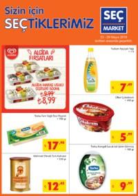 Seç Market 23 - 29 Mayıs 2018 Kampanya Broşürü! Sayfa 1