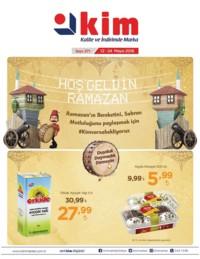 Kim Market 12 - 24 Mayıs 2018 Ege Bölgesi Kampanya Broşürü! Sayfa 1
