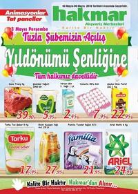 Hakmar 03 - 06 Mayıs 2018 Kampanya Broşürü! Sayfa 1