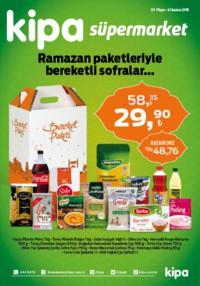 Kipa Süpermarket 24 Mayıs - 06 Haziran 2018 Kampanya Broşürü: Ramazan Paketleriyle Bereketli Sofralar Sayfa 1