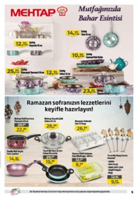 Kipa Süpermarket 24 Mayıs - 06 Haziran 2018 Kampanya Broşürü: Ramazan Paketleriyle Bereketli Sofralar Sayfa 5 Önizlemesi