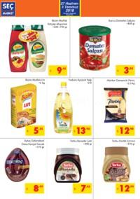 Seç Market 27 Haziran - 03 Temmuz 2018 Kampanya Broşürü! Sayfa 2