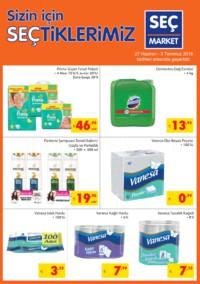 Seç Market 27 Haziran - 03 Temmuz 2018 Kampanya Broşürü! Sayfa 1