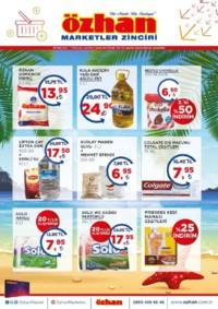 Özhan Marketler Zinciri 25 Haziran - 01 Temmuz 2018 Kampanya Broşürü! Sayfa 1