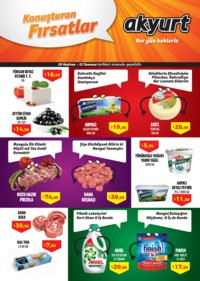Akyurt Süpermarket 29 Haziran - 12 Temmuz 2018 Kampanya Broşürü! Sayfa 1