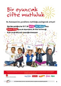 Kipa Süpermarket 07 - 20 Haziran 2018 Kampanya Broşürü: Tatil Keyfini Kipa ile Sürün! Sayfa 5 Önizlemesi