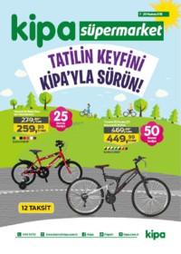 Kipa Süpermarket 07 - 20 Haziran 2018 Kampanya Broşürü: Tatil Keyfini Kipa ile Sürün! Sayfa 1
