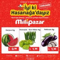 Milli Pazar Market 30 Haziran - 01 Temmuz 2018 Hasanağa Şubesi Özel Kampanya Broşürü! Sayfa 2