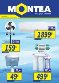 Montea Yapı Market 29 Haziran - 12 Temmuz 2018 Kampanya Broşürü! Sayfa 1