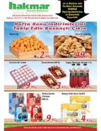 Hakmar 09 - 10 Haziran 2018 Kampanya Broşürü! Sayfa 1