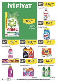 Kipa Süpermarket 07 - 20 Haziran 2018 Kampanya Broşürü! Sayfa 41 Önizlemesi