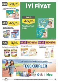 Kipa Süpermarket 07 - 20 Haziran 2018 Kampanya Broşürü! Sayfa 46 Önizlemesi