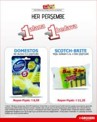 Groseri 28 Haziran 2018 1 Alana 1 Bedava Kampanya Broşürü! Sayfa 1