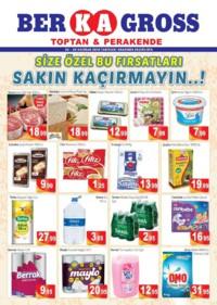 Grup Ber-ka Market 23 - 30 Haziran 2018 Kampanya Broşürü: Fırsatları Kaçırmayın! Sayfa 1