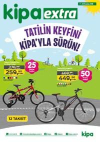 Kipa Extra 07 - 20 Haziran 2018 Kampanya Broşürü: Tatil Keyfini Kipa ile Sürün! Sayfa 1
