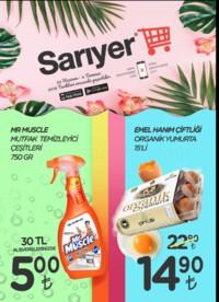 Sarıyer Market 22 Haziran - 04 Temmuz 2018 Kampanya Broşürü! Sayfa 1