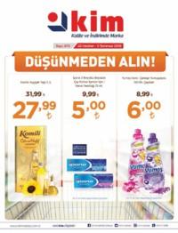 Kim Market Marmara Bölgesi 22 Haziran - 05 Temmuz 2018 Kampanya Broşürü! Sayfa 1