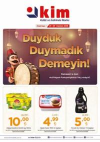 Kim Market Marmara Bölgesi 01 - 07 Haziran 2018 Kampanya Broşürü! Sayfa 1